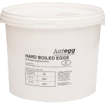 Hard Boiled Eggs in Preserving Solution Bucket